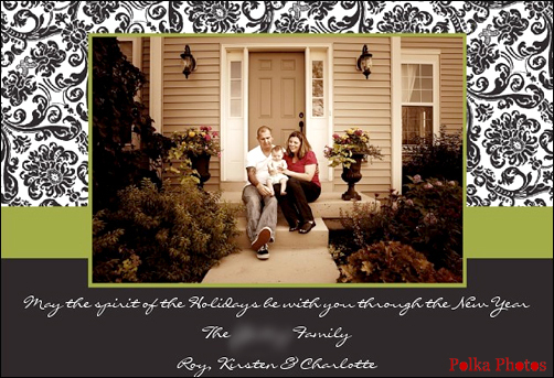 Los Angeles Xmas card photographer