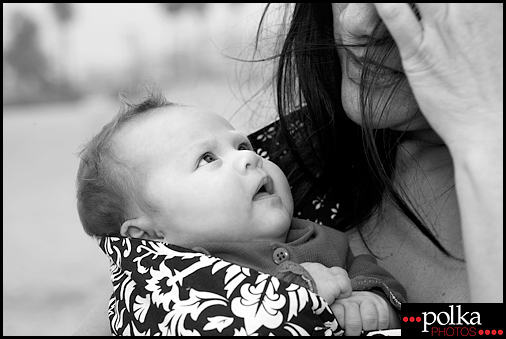 Los Angeles mom and baby portrait photographer