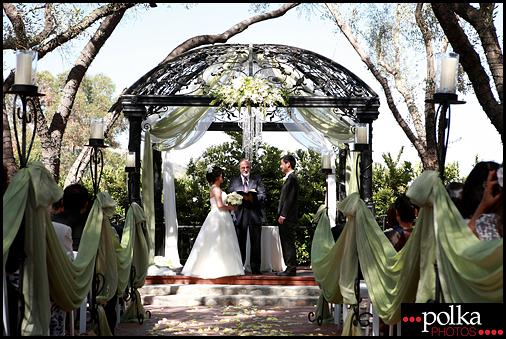 wedding ceremony photographer Padua Hills Theatre Claremont California