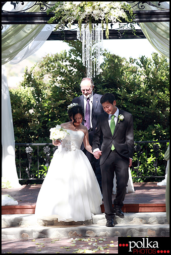 los angeles wedding ceremony photographer Padua Hills Theatre Claremont California