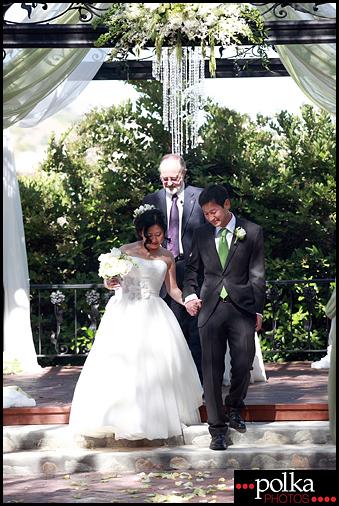 los angeles wedding ceremony photographer Padua Hills Theatre Claremont California