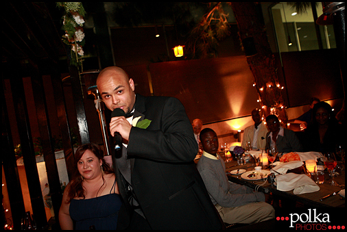 wedding toasts speech best man Santa Monica