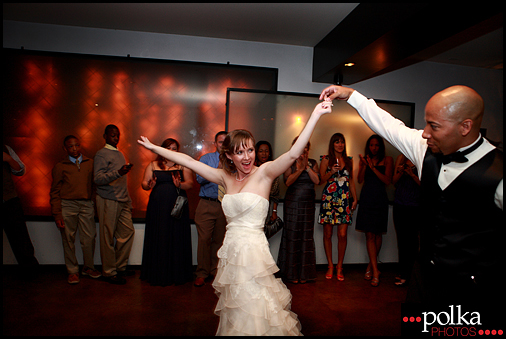 wedding photography Santa Monica first dance bride groom