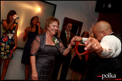 wedding photography Santa Monica mother son dance