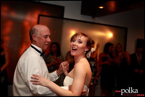wedding photography Santa Monica dance father daughter bride