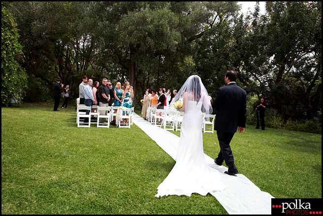 Los Angeles wedding photographer, Los Angeles wedding photography, ceremony, bride, walk down the aisle