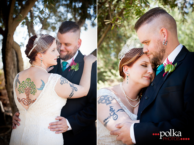 los angeles irish wedding