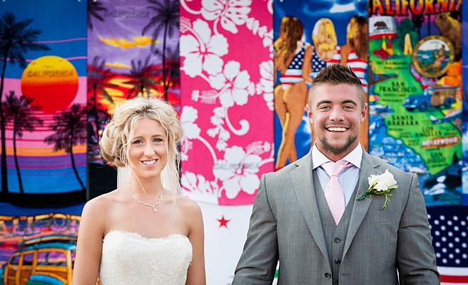 Venice, beach wedding, wedding, California
