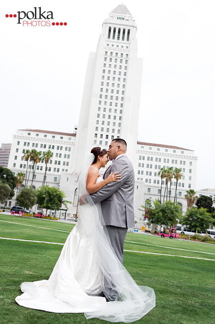 wedding; bride; groom; Los Angeles; Los Angeles wedding photographer; LA City Hall; City Hall; elope; elopements; city hall wedding; intimate wedding; military wedding; military bride; military groom; navy bride; navy groom; justice of the peace wedding, courthouse wedding