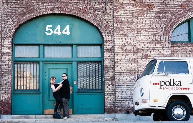engagement; los angeles; punk bride; downtown los angeles; dtla; arts district; union station; los angeles wedding photographer; los angeles engagement photographer; los angeles engagements