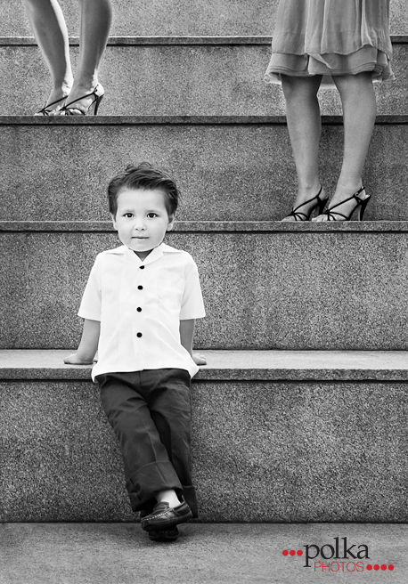 ring bearer, wedding, Los Angeles