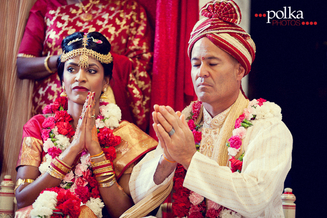 Colorful Indian Wedding Malibu Hindu Temple Los Angeles Photographer Polka Photos 310 691 4962