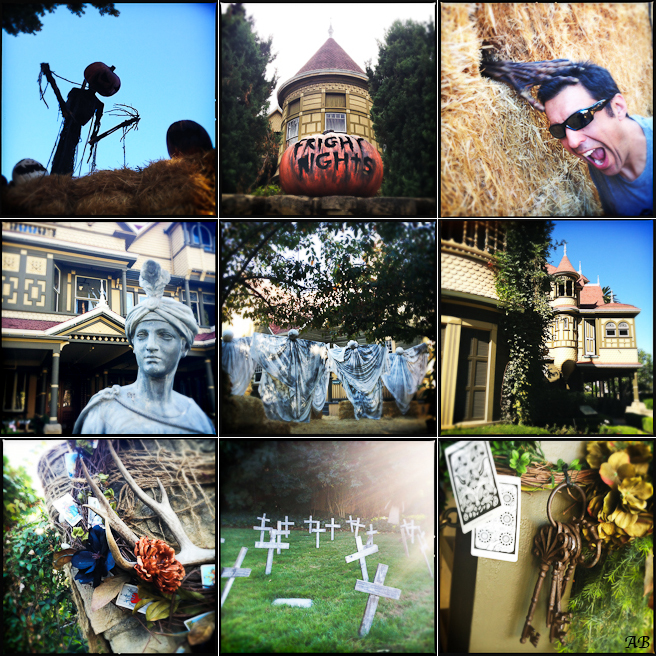 travel photography, travel, Winchester House, Halloween, spooky, historical building, ghosts, Hipstamatic