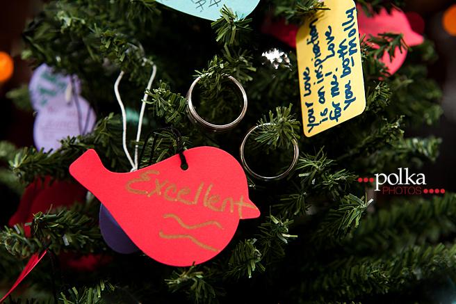 Christmas wedding, Christmas, holiday wedding, Los Angeles wedding photographer, Christmas guest book, wedding guest book, offbeat wedding, Christmas ornament, wedding ornament, ornaments