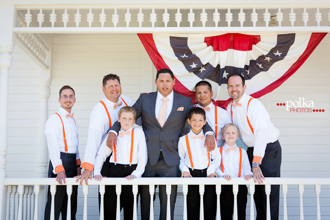 Independence Day wedding, Independence Day, Huntington Beach wedding, Huntington Beach, Newland Barn, Newland Barn wedding, groomsmen
