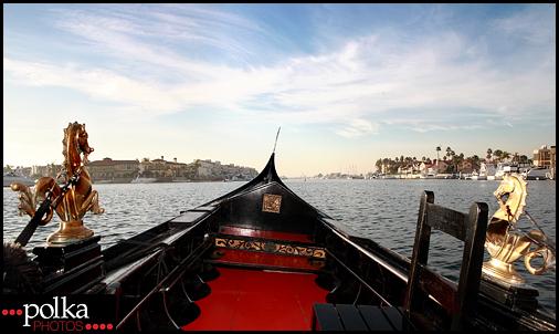 Sunset Gondola Photographer